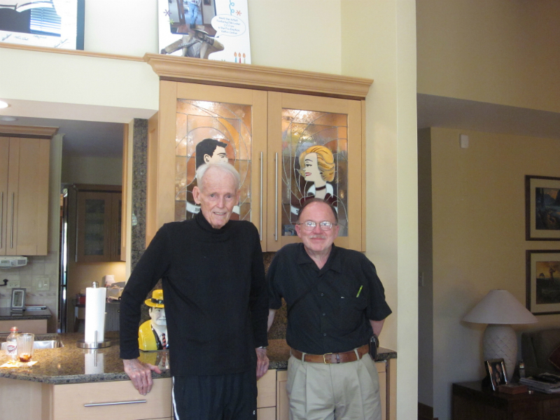 5 - Dick Locher and Joe Staton in Naperville