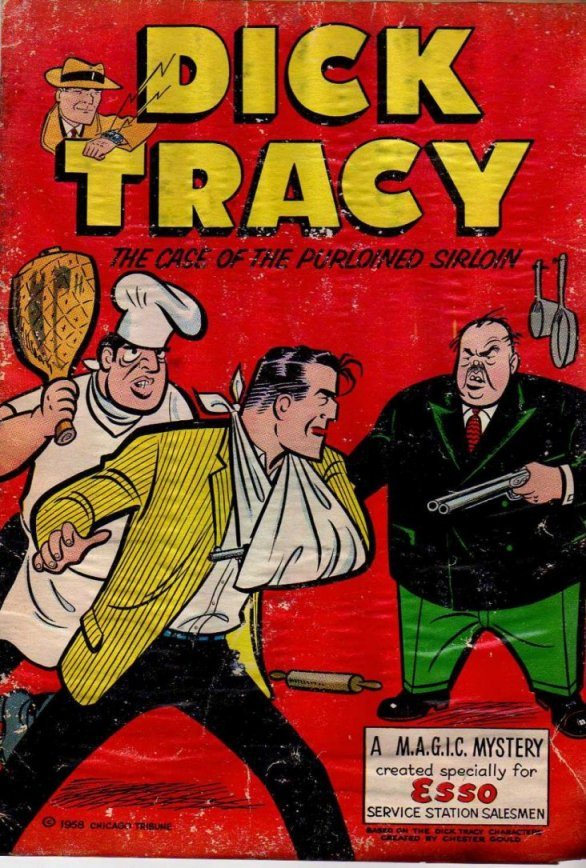 Dick Tracy and the Case of the Purloined Sirloin (Cover)
