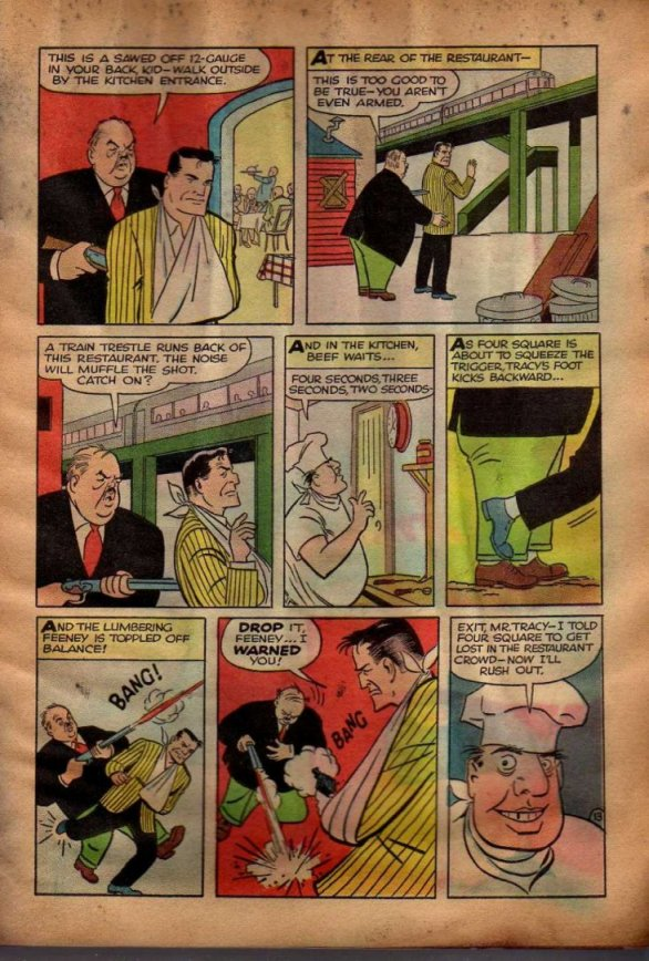 Dick Tracy and the Case of the Purloined Sirloin (Page 10)