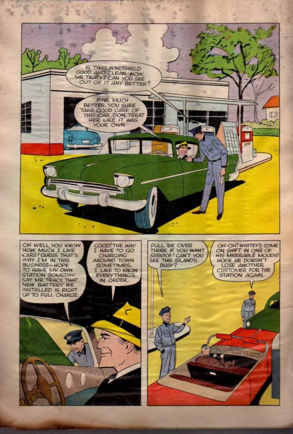 Dick Tracy and the Case of the Purloined Sirloin (Page 1)