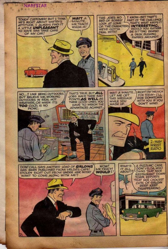 Dick Tracy and the Case of the Purloined Sirloin (Page 3)