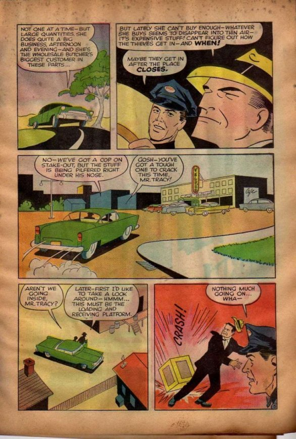 Dick Tracy and the Case of the Purloined Sirloin (Page 4)