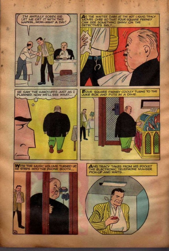 Dick Tracy and the Case of the Purloined Sirloin (Page 7)