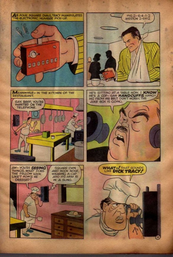 Dick Tracy and the Case of the Purloined Sirloin (Page 8)