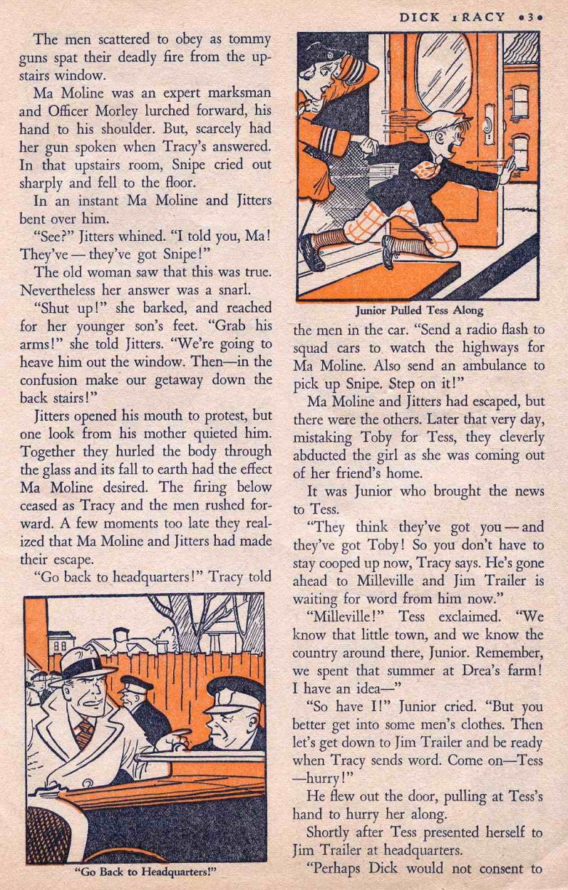 Dick Tracy Shoots it Out... (Page 2)