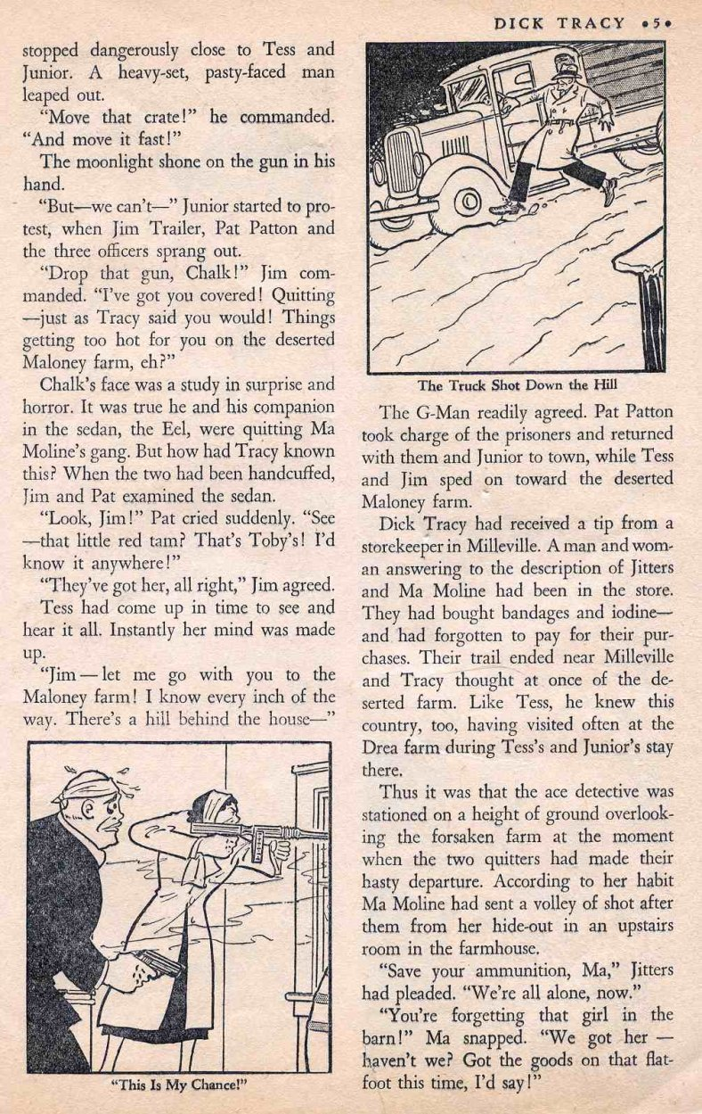 Dick Tracy Shoots it Out... (Page 4)