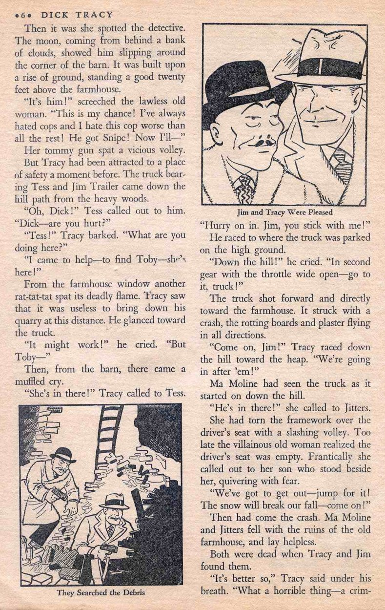 Dick Tracy Shoots it Out... (Page 5)