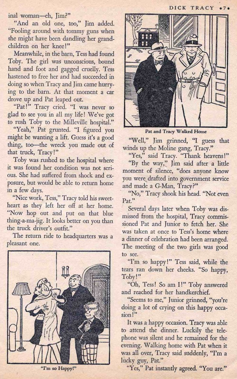 Dick Tracy Shoots it Out... (Page 6)