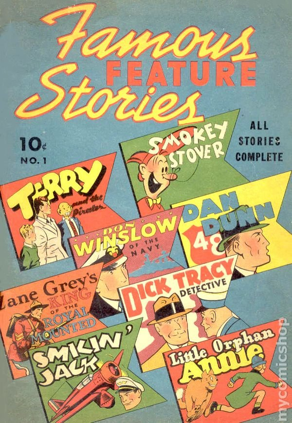 Famous Features #1 (1938 - Cover)