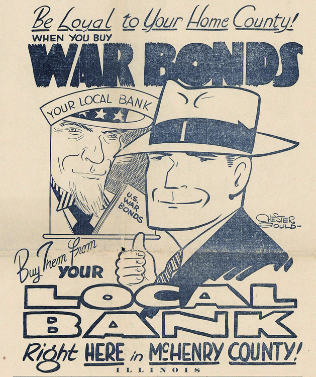 War Bonds Ad and Operation Dick Tracy