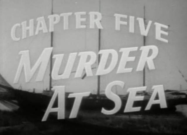 Murder at Sea