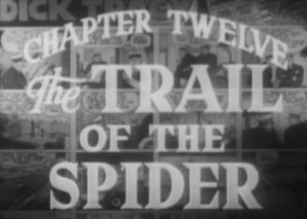 The Trail of the Spider