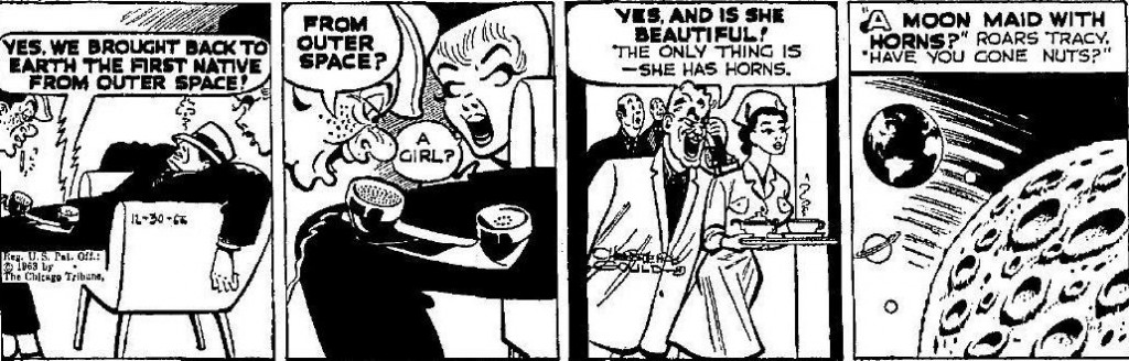 Dick Tracy Moon Maid 62